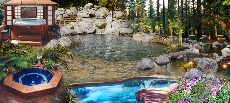 Swimming Pools & Spas - Montrose, Foothills, LA Areas